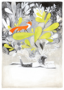 iconoclassic:  (via CHILDREN'S ILLUSTRATION: Isabelle Arsenault)