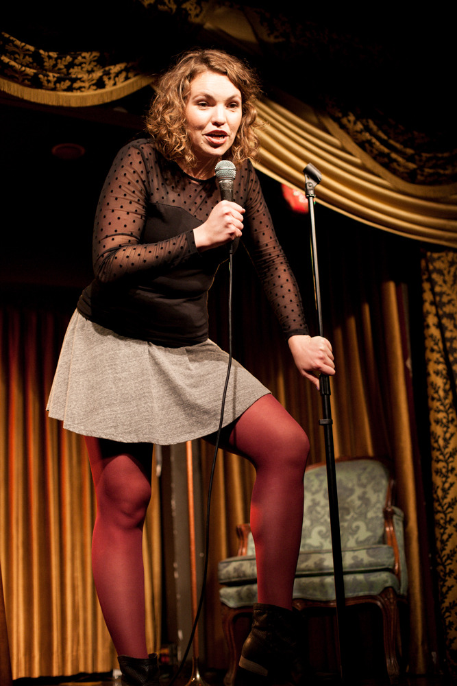 superseriousshow:  Beth Stelling//The Super Serious Show, January 2014 *Photo byCallie Biggerstaff