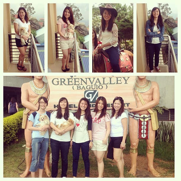 The women of the Sy household. Almost same height na kaming lahat :) 👭💁👩👧 #latepost