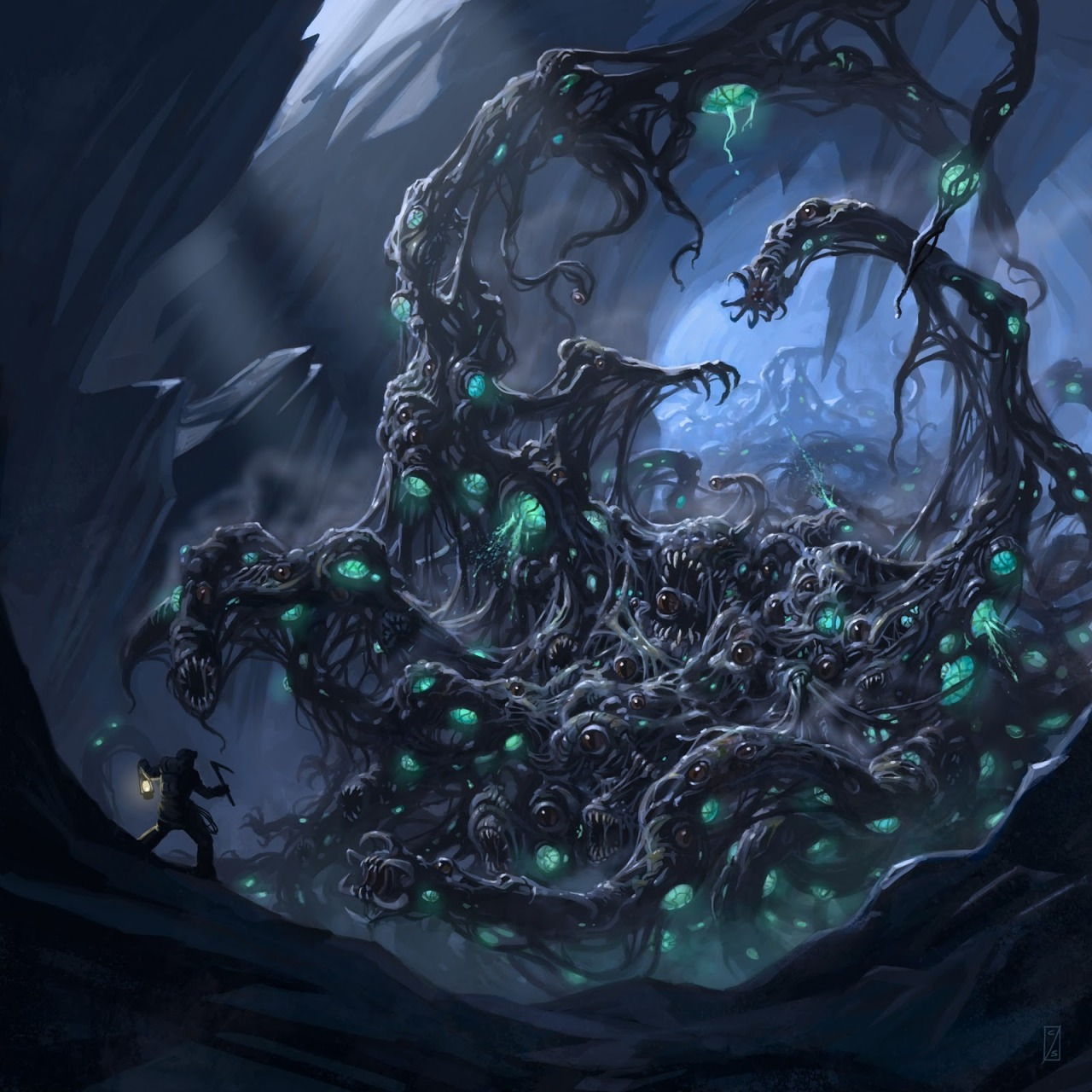 H.P. Lovecraft Creature Lab series, Part Three: Shoggoth, by Craig J. Spearing!