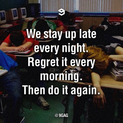 9gag:  Story of my life 😴