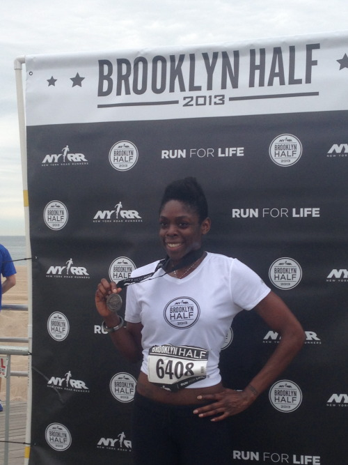 The Brooklyn Half Marathon!
