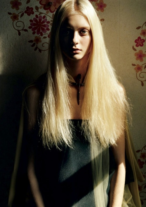 moldavia:  Nastya Kusakina in AnOther Magazine S/S 2013 by Alasdair McLellan