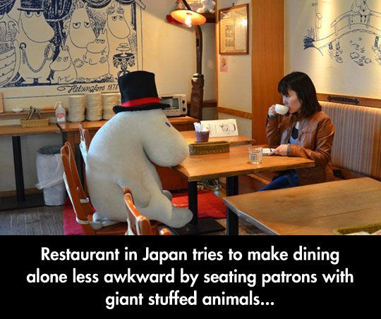 dining forever alone...