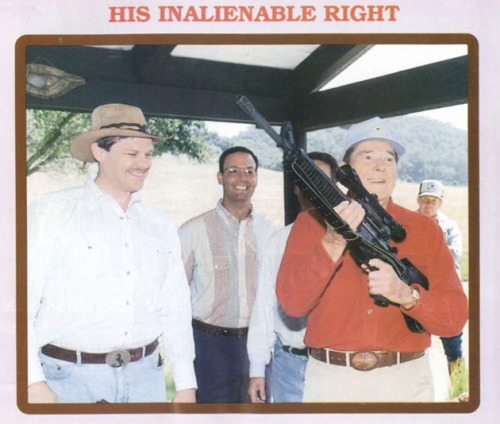 (via 12 Photos of Presidents Packing Heat)
