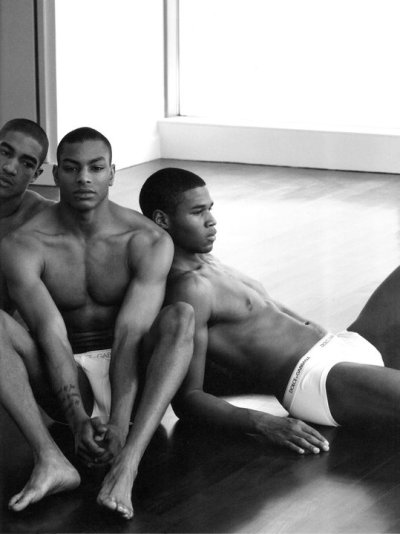 black-boys:  Wendell, Shawn & Henry by Mariano Vivanco | Uomini  - Dolce & Gabbana (2010)