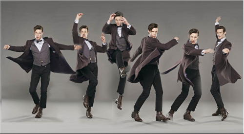 ianderry:  Matt Smith dancing in my studio #DrWho #photography