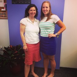 Our Boston belles looking great in their #boden best!