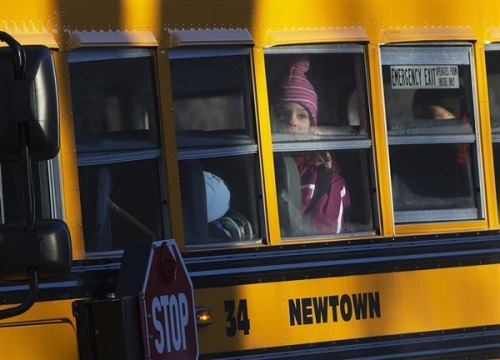 Sandy Hook students return: New principal, new building, old desks (Photo: Shannon Stapleton / Reuters) For the first time in almost three weeks, students from Sandy Hook Elementary School did something Thursday that had once seemed so natural: They went to school. Read the complete story.