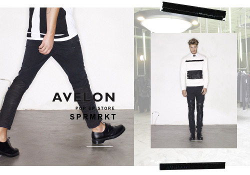 "AVELON@SPRMRKT If you asked me ""Which stores I must visit in Amsterdam?"" One will be SPRMRKT. Their brands portfolio is one of the reason and then their 'never the same' look of showroom. Until end of March 2013, AVELON will be available at SPRMRKT. If you can visit the store on thursday and friday, the AVELON dream team will be there to assist you. The Spring Summer 2013 collection will be available next to leather-denim combo key pieces and that one of a kind pieces. A must visit but you need your adventure soul because this is not that regular tourist route you will take. But this will be a good one. Don't you want one piece of Avelon after you see my favorite items above in the picture?"