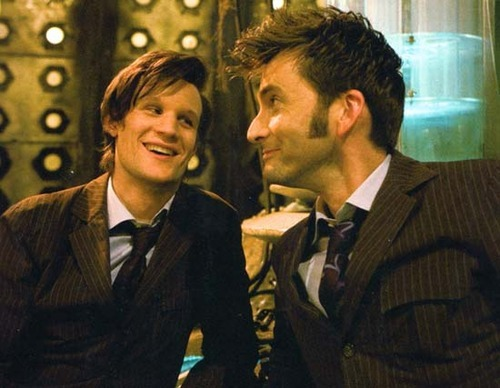 And this is how I decided five minutes ago that I ship Smith and Tennant SO HARD.
