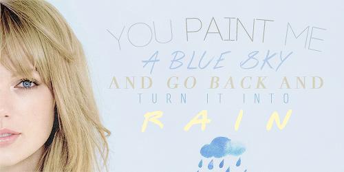 Favorite lyrics from Dear John by Taylor Swift.