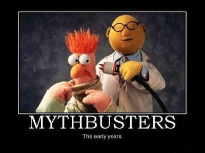 Mythbusters - The early years.