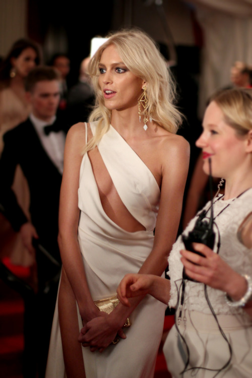 visualvixen:  Anja Rubik at the Met Gala 2012