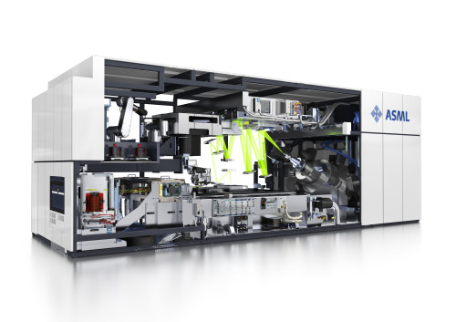 Ultraviolet lithography machine from ASML