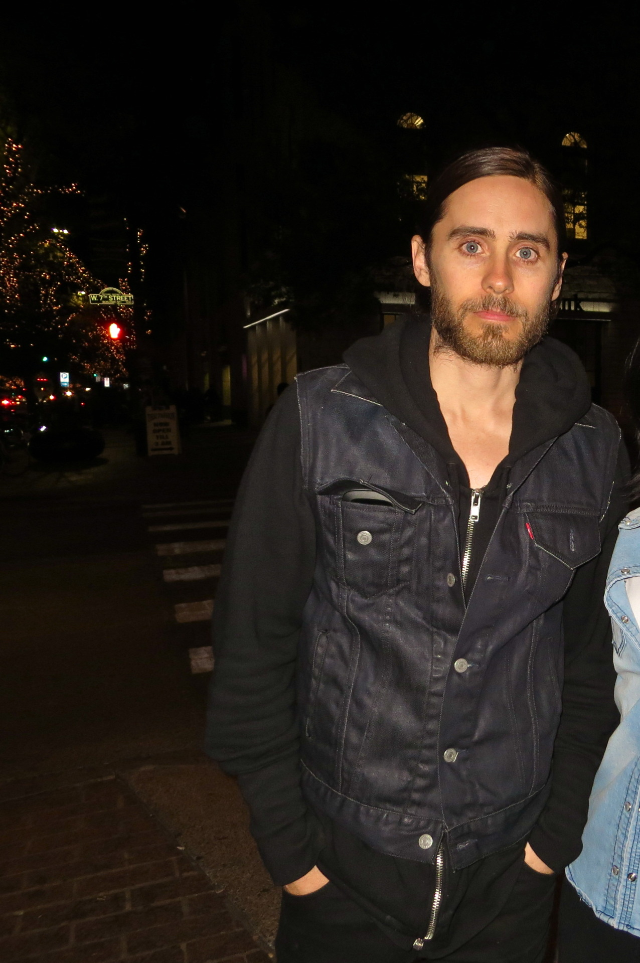 I RAN INTO JARED LETO TWO DAYS IN A ROW DURING SXSW!! MY LIFE IS COMPLETE!