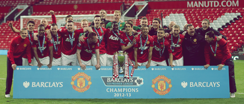 "iloveunited:  Manchester United win the inaugural Barclays Under-21 Premier League title after a 3-2 comeback victory over Tottenham Hotspur at Old Trafford, and Sir Alex Ferguson is pleased: ""United always placed a great emphasis on youth long before I came. Sir Matt Busby started that, great era, fantastic teams, and took Manchester United into Europe, the first English club to do so. It's always been there and I have tried to maintain that, though it is more difficult in the present climate - you have to scout abroad now but you are still looking for young people who can do well."""