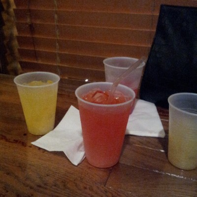 Drink #5 was so strong I had to get sone juice & make it a #6 lol