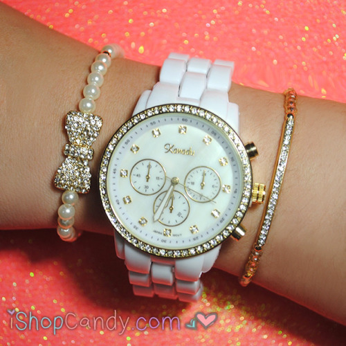 Such pretty arm candy!  Affordable, fashionable and trendy.  Check out www.iShopCandy.com for more!