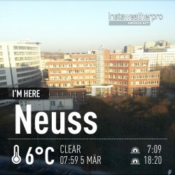 Good morning Neuss