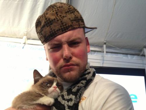 imwithkanye:  SXSW. Scumbag Steve and Grumpy Cat.