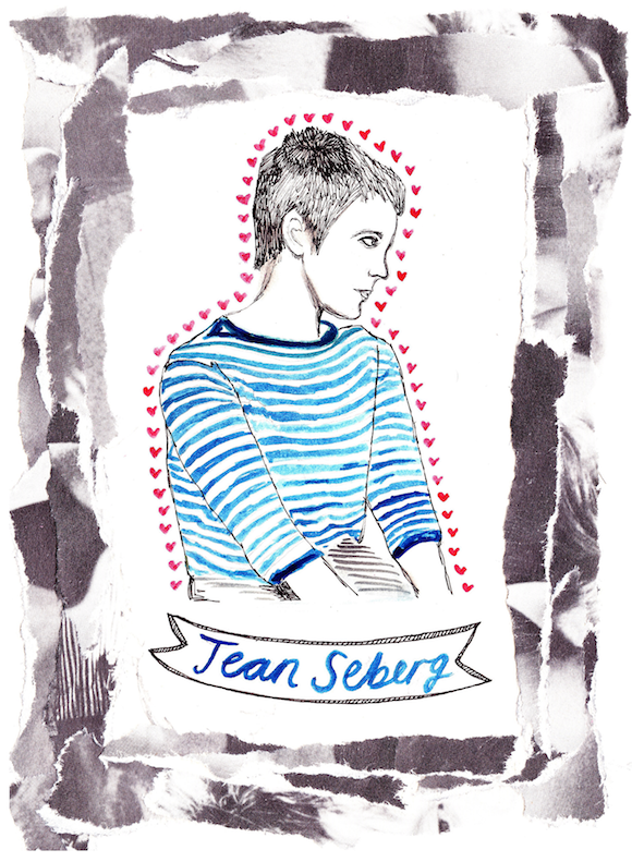 rookiemag:  Hero Status: Jean Seberg  I know she would have been on my side.