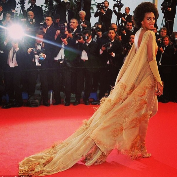 Solange in Cannes styled by  #RandM 💋