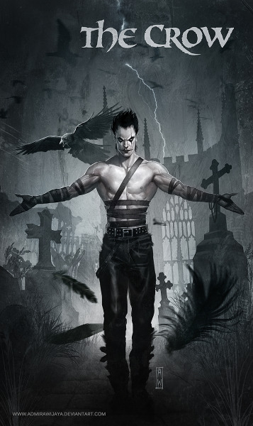 xombiedirge:  The Crow by Admira Wijaya