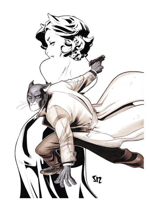 lulubonanza:  BlackSad Hommage II by *StephaneRoux