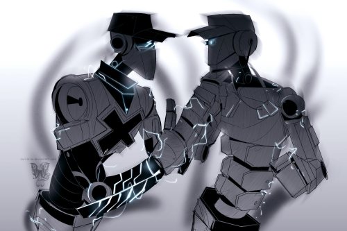 darklitria:  random robot batter and scout… related crap