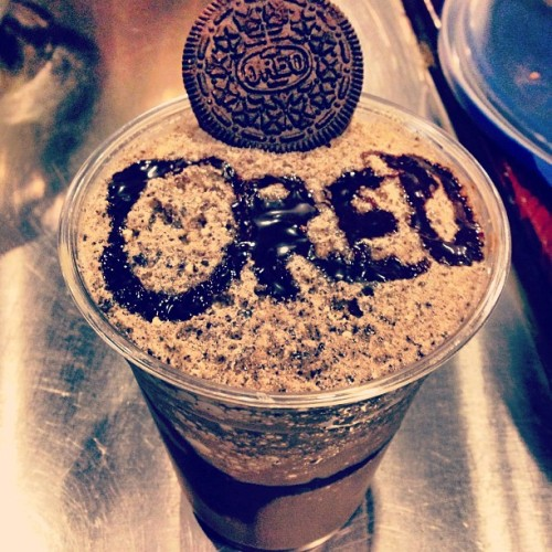 Frappé me. #kitamucoffee #espresso #coffee #Oreo #frappe #hilliard #columbus #ohio #creative #mo  (at Kitamu Coffee)