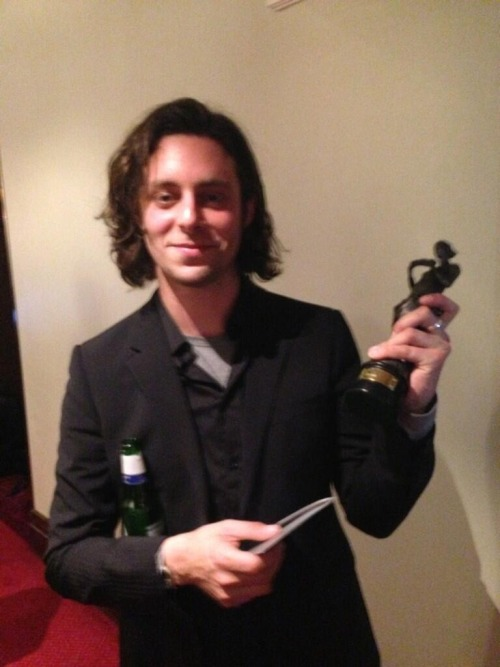 hellyeahthemaccabees:  felix with their ivor novello