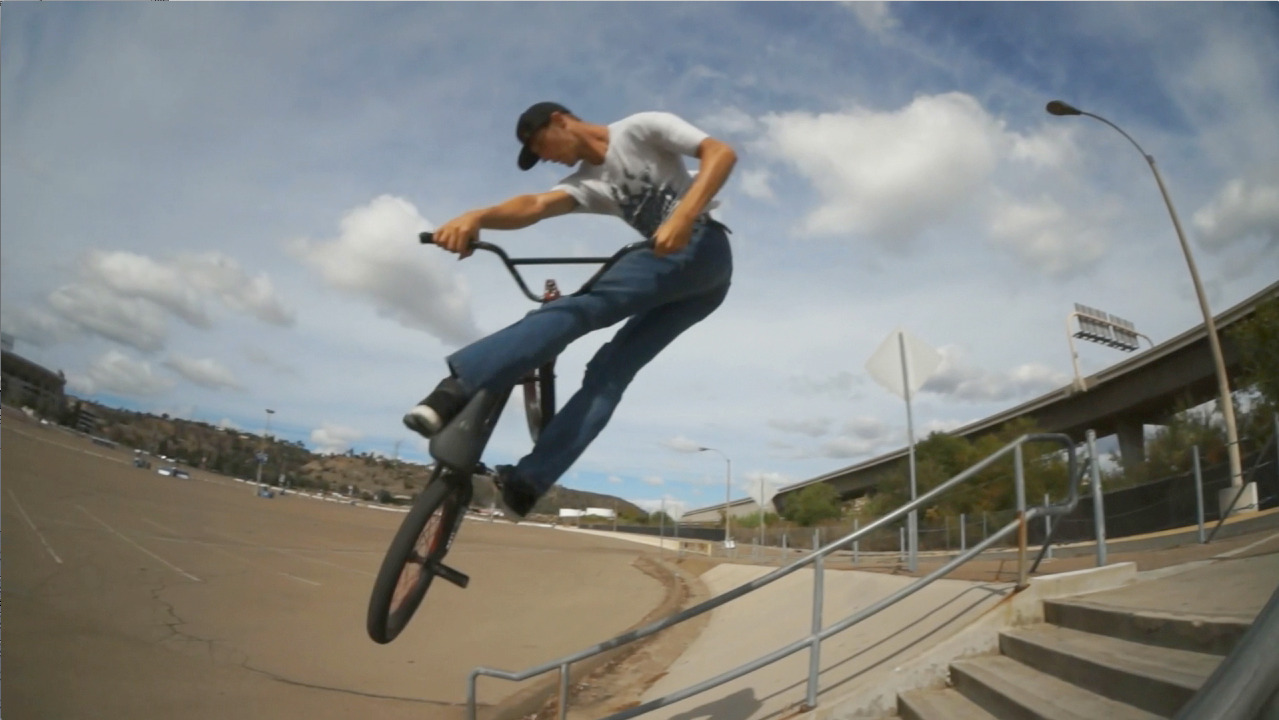 Crooked World BMX hits up San Diego's best BMX spots from the dirt to the streets. Get it!  Click this post to watch the video with Mitch McKelvey!
