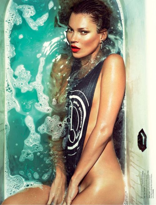 suicideblonde:  Kate Moss photographed by Mert and Marcus for Love #9 S/S 2013