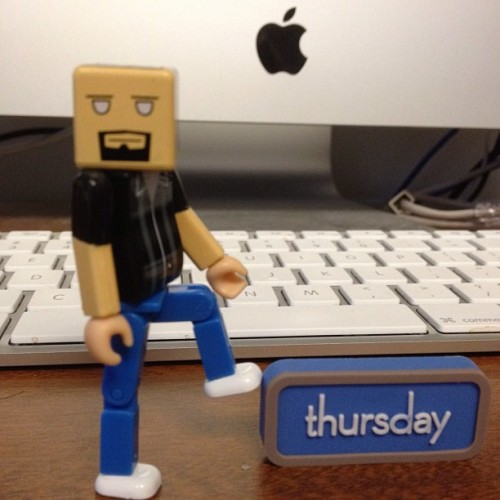 Almost Friday - a.k.a. Thursday!  Have a DYNAMITE day! (at WesWyatt.com)