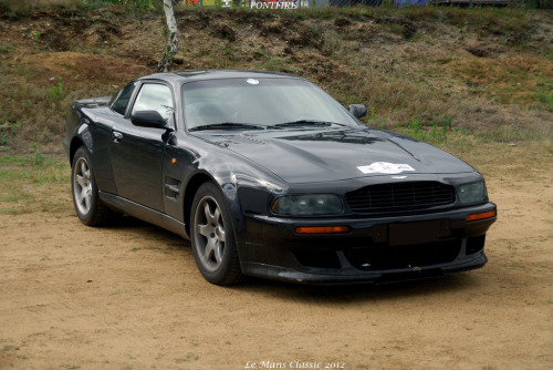 All muscles Starring: Aston-Martin V8 Vantage V600 (by pontfire)
