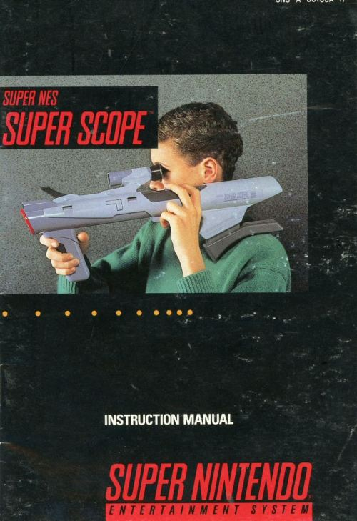 SNES Super Scope manual.