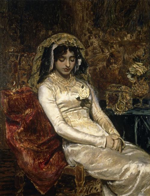 (via Antonio Muñoz Degrain - Before The Wedding [1882] | Gandalf's Gallery)