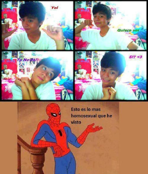 Sensual y Borde Spiderman