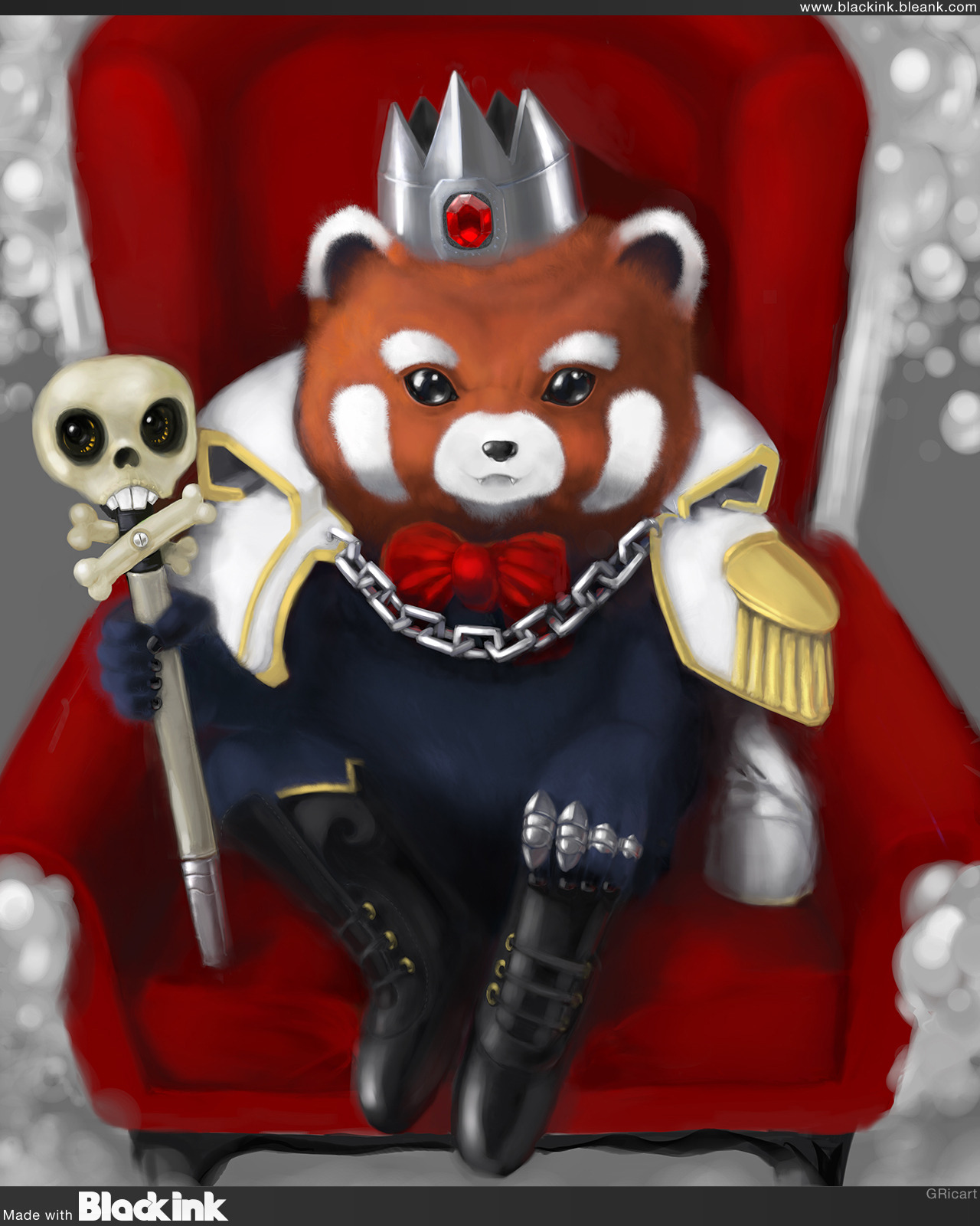 """Rey D Panda"" the pirate King By Bonnie"