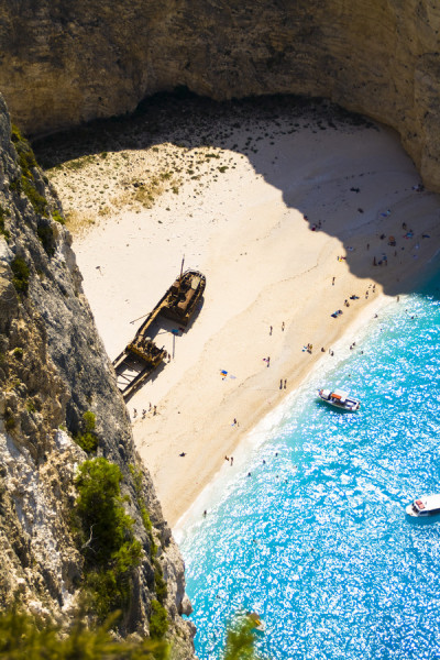 0mnis-e:  Ship Wrek Beach/Navagio, By Marie-Louise Titze.