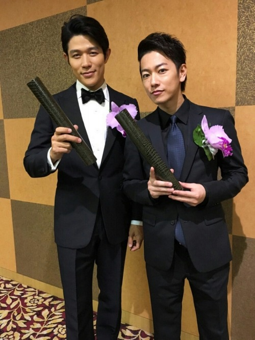 "Takeru Sato and Ryohei Suzuki received the Hashida Awards for their performance in ""The Emperor's Cook"". The awards ceremony took place today, May 10.