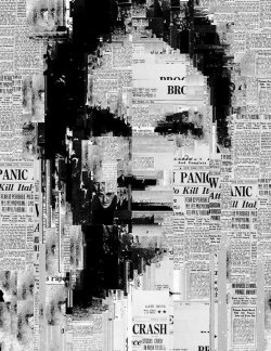 sergioalbiac:  You are not in the news - Generative collage www.sergioalbiac.com facebook page