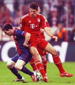 fcbmariogomez:  Two of my favorite attackers on one pitch.