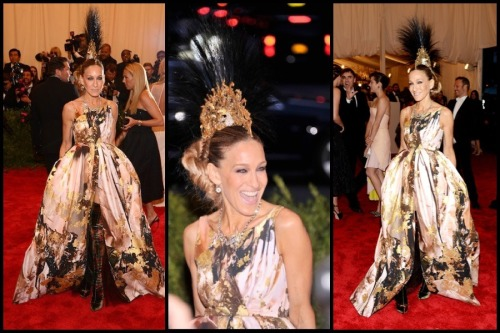 Sarah Jessica Parker at Met Ball 2013. The only one