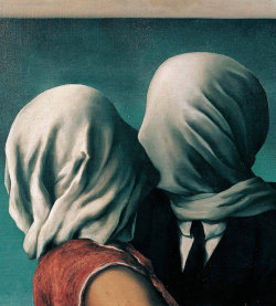 The Lovers, René Magritte (1928)
