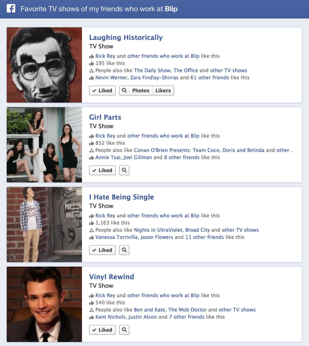 Facebook's new Graph Search was just turned on for my account and its sorta awesome.