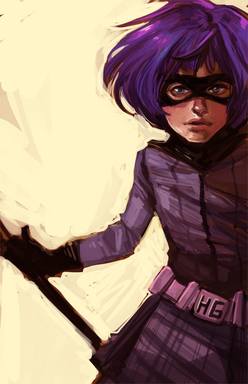 lulubonanza:  hit-girl by ~marika