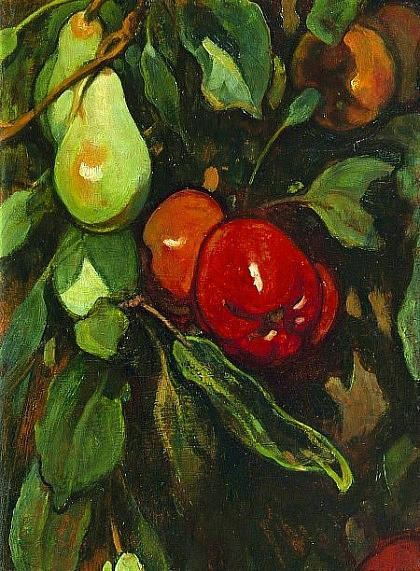 Jacobus van Looy Red Apples and Pears Late 19th - early 20th century