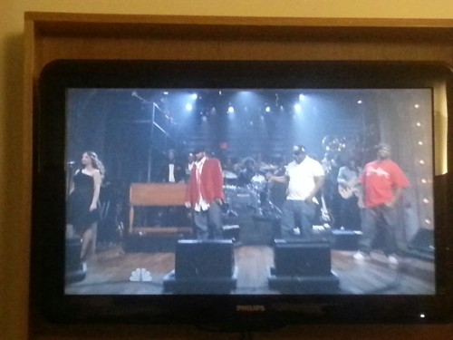 On jimmy fallon tonight singing with adrian younge and ghostface killah with the roots